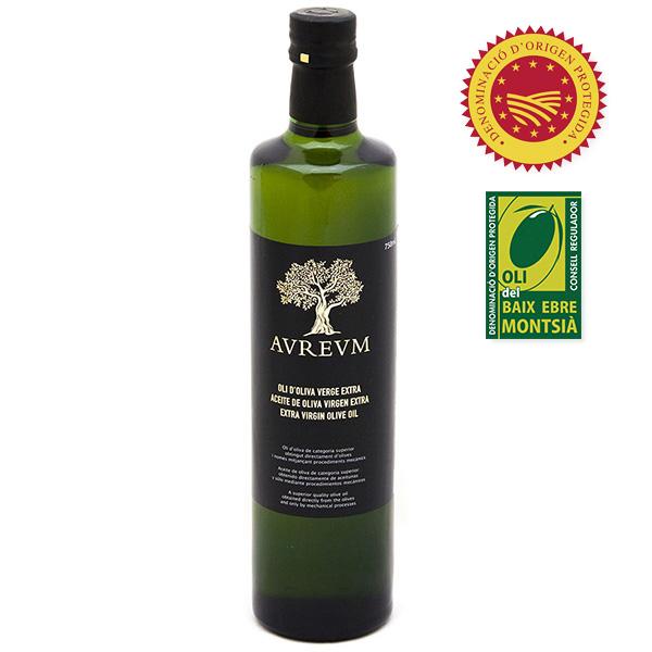 Oli d'oliva verge extra Aureum Coupage