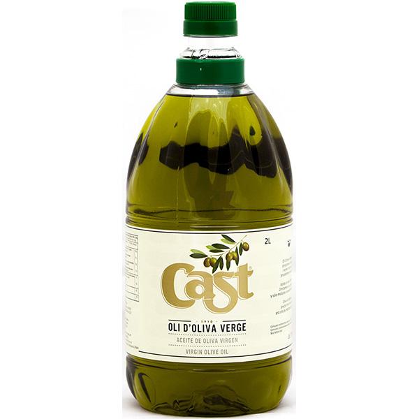 Oli d'oliva verge Cast 2 l
