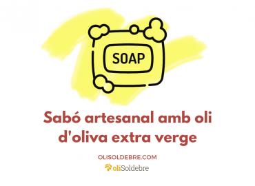 SABÓ ARTESANAL AMB OLI D'OLIVA EXTRA VERGE